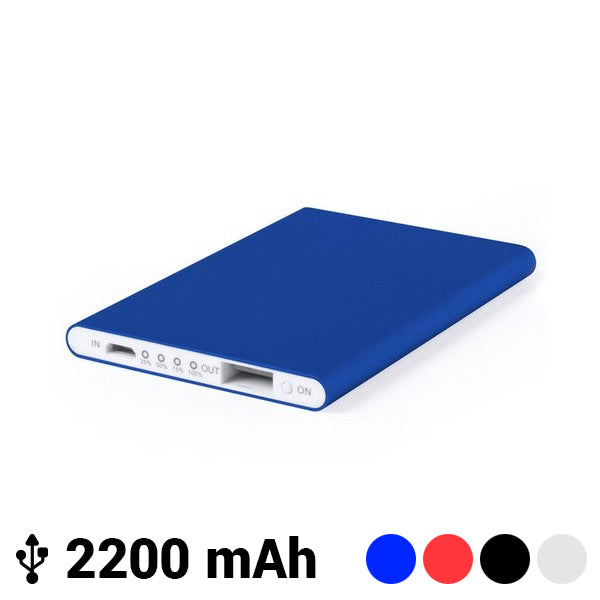 Power Bank Ultrapiatto con Micro USB 2200 mAh LED 145538