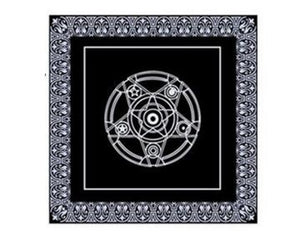 Black Tarot Tablecloth ,49*49cm