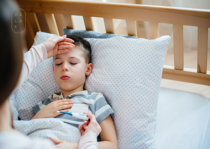 The Most Effective Home Remedies For Cold, Fever and Cough In Kids