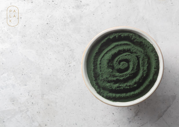 Spirulina in Cup