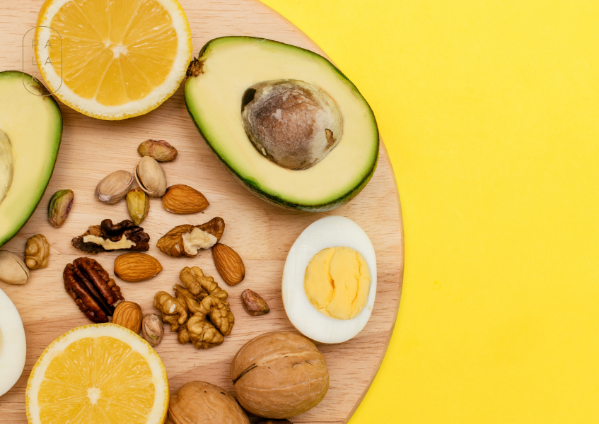 avocados and seeds