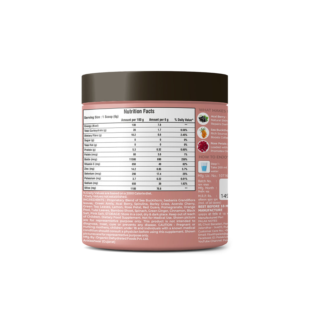 collagen powder for hair and skin