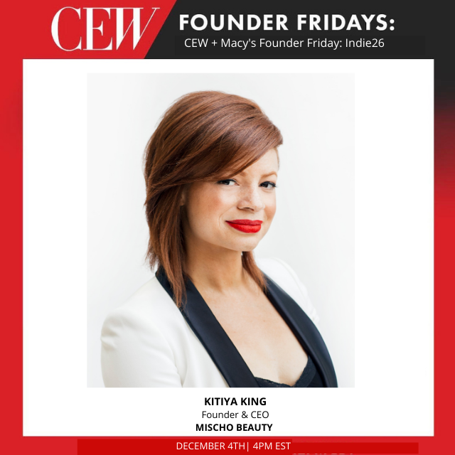 CEW + Macy's Founder Friday: Indie26