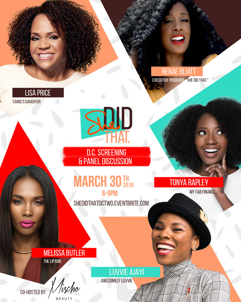 We're Co-hosting the DC Premiere of 'She Did That'!