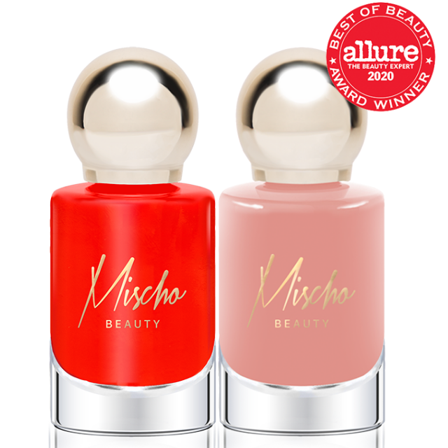 Mischo Beauty Nail Lacquer Set in Worthy + Diana