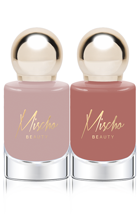 Mischo Beauty Nail Lacquer Set in Manicured + Angel