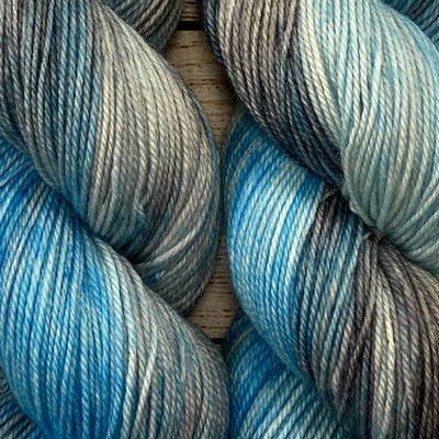 Salisbury Sock - Storm's End - Blue - Numana Yarns