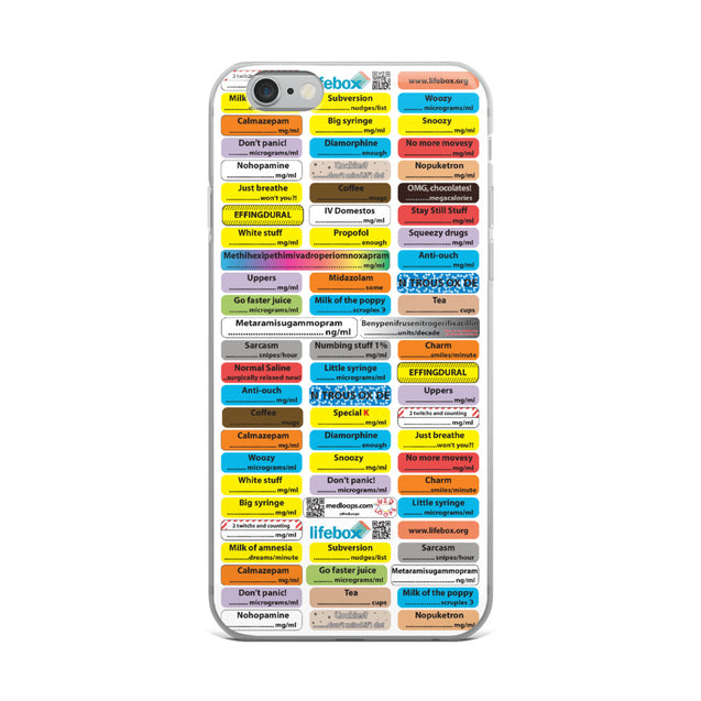 iPhone Case (comedy anaesthesia)