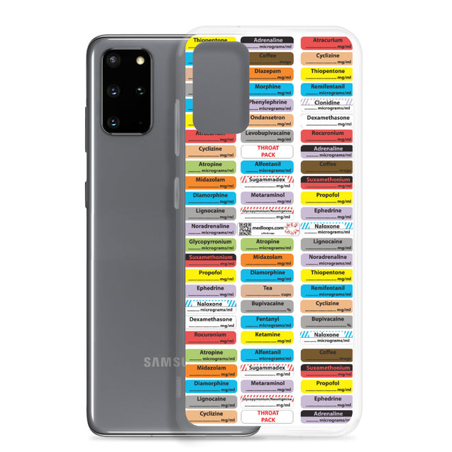 Samsung Case (sensible anaesthesia)