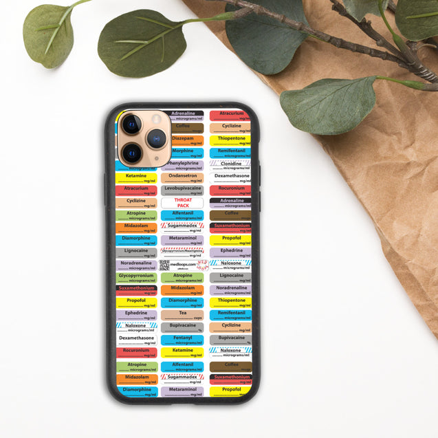Biodegradable iPhone case (sensible anaesthesia)