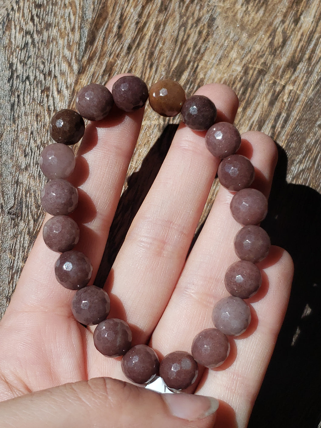 Purple Aventurine Stretch Bracelet