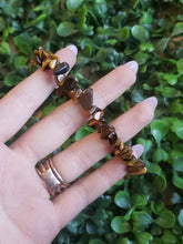 Load image into Gallery viewer, Tiger Eye Chips Stretch Bracelet Set