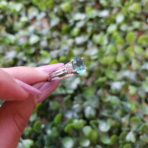 S.S. Mint Apatite Ring
