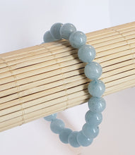 Load image into Gallery viewer, Aquamarine Stretch Bracelet