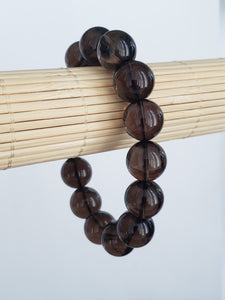 Smokey Quartz Stretch Bracelet