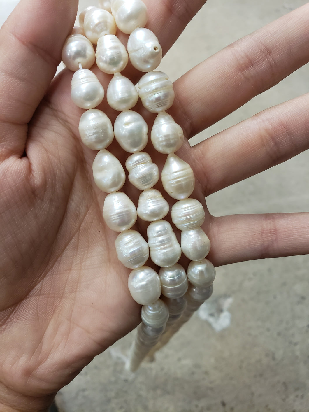 Pearl Nugget Beads