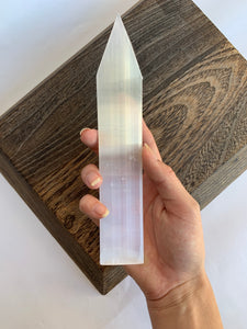 Selenite Flat Arrow