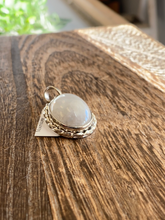 Load image into Gallery viewer, S.S. Rainbow Moonstone Pendant
