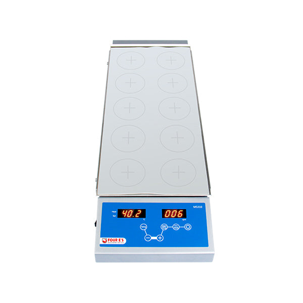 MS310 Multi place Magnetic hotplate stirrer