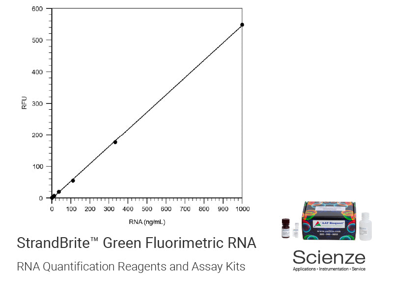 StrandBrite™ Green Fluorimetric RNA Quantitation Kit *Optimized for Microplate Readers*