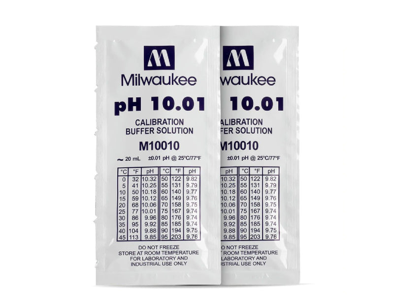 M10010B pH 10.01 Calibration Solution Sachets (25)