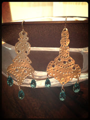 Morocco earrings - long