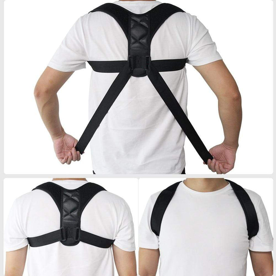Adjustable Back Posture Corrector - EssentialsOnEarth