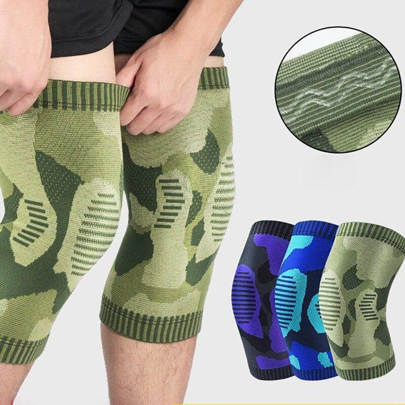 Anti-slip Knitted Leg Support Knee Pad Protector - EssentialsOnEarth
