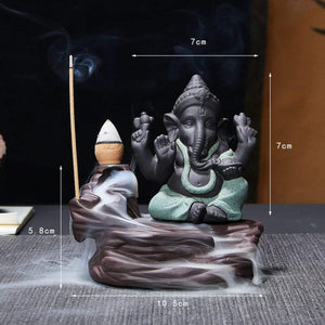 Elephant God Ganesha Meditation Ornaments Decoration Crafts - EssentialsOnEarth