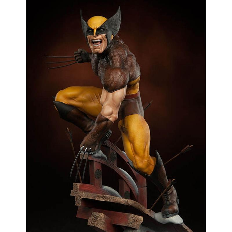 Marvel X-Men Wolverine statue Figure - EssentialsOnEarth