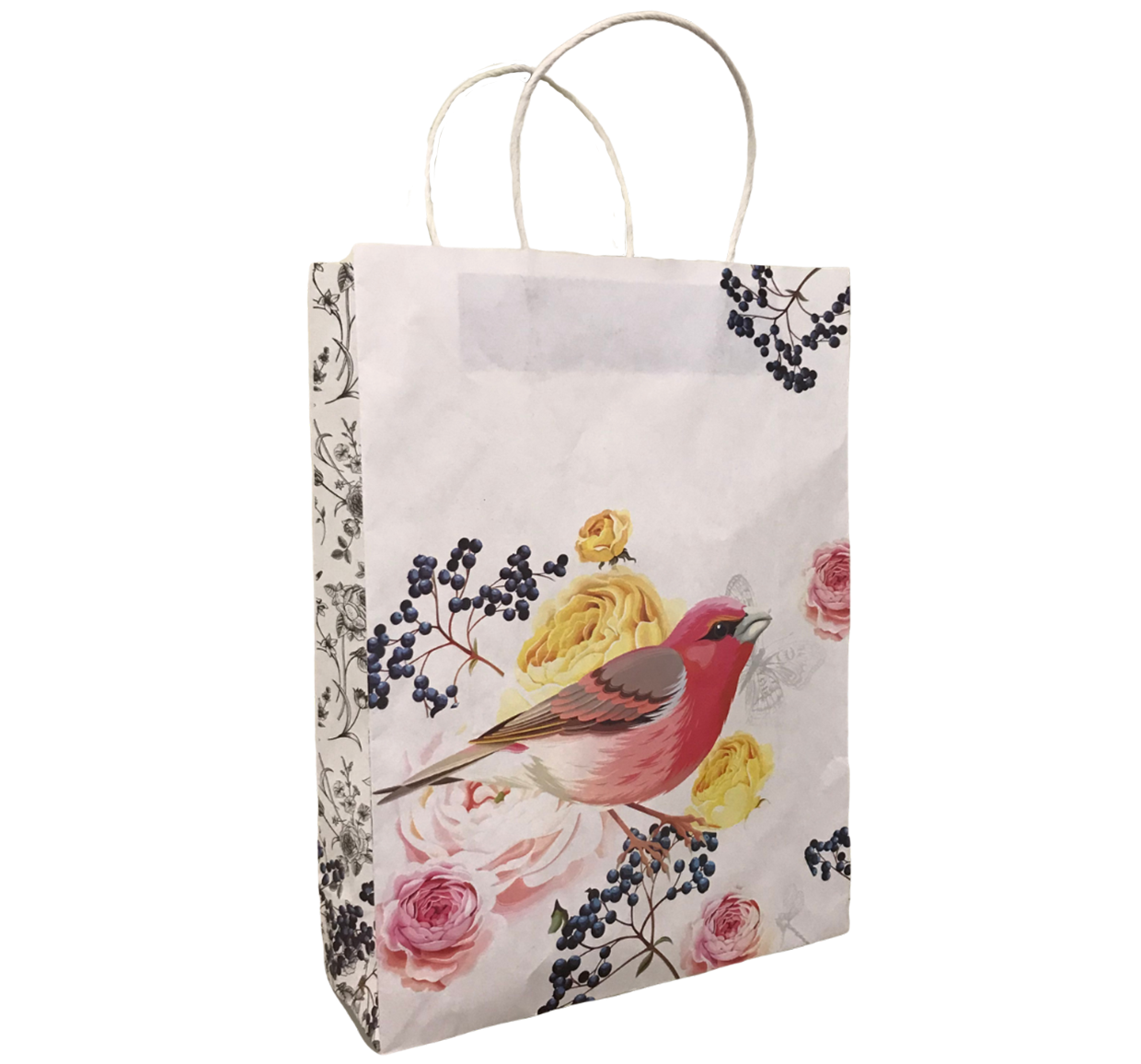 Botanical #14 Twist Handle Carry Bag