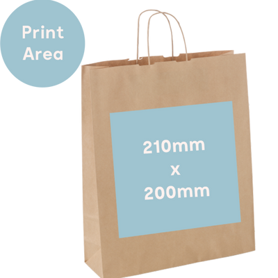 Medium Carry Bag - Custom Print