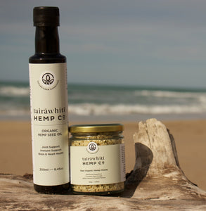 *Gizzy Local Special* 1 x 250ml Hemp Oil and 1 x 150g Hemp Hearts