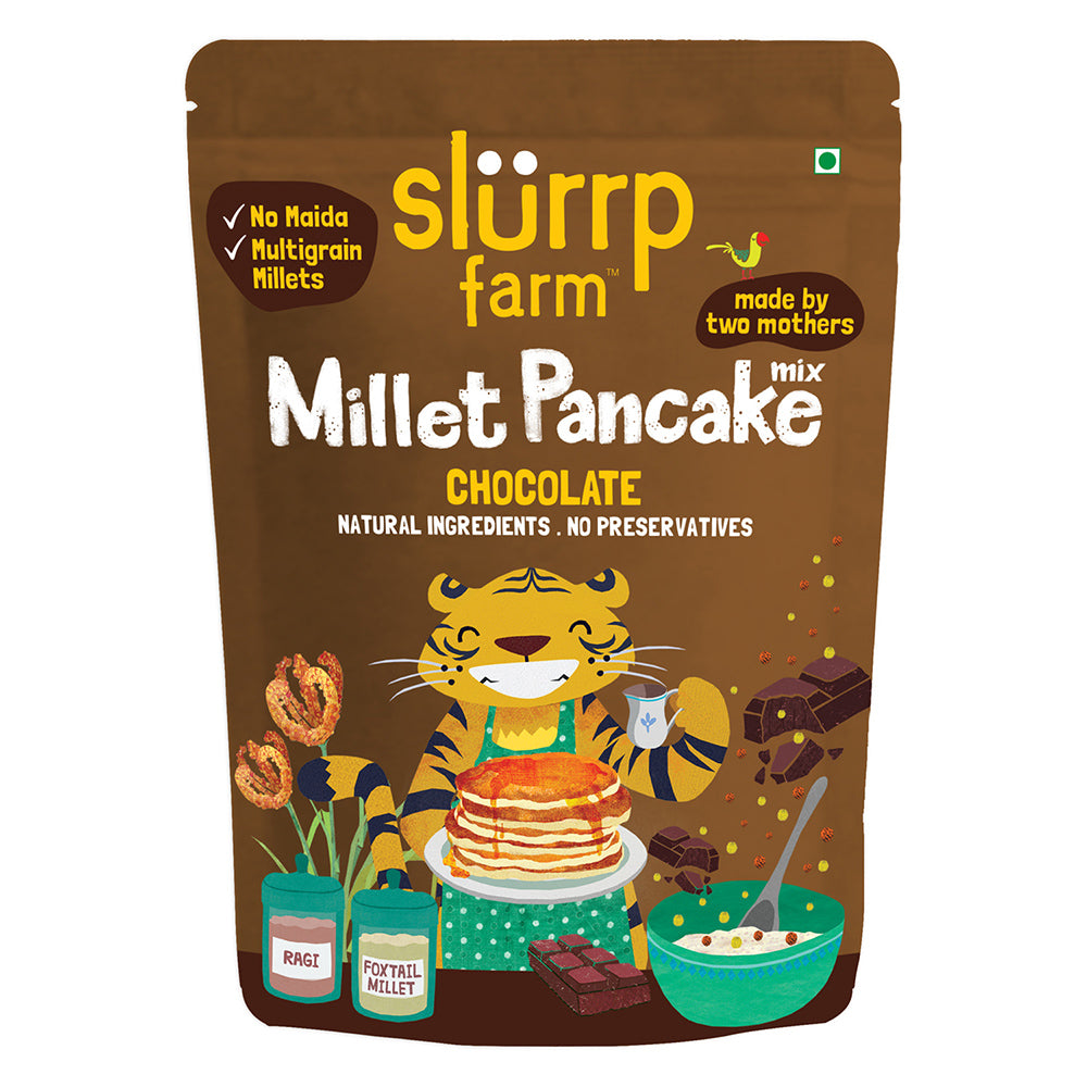 Millet Pancake Mix: Chocolate & Supergrains