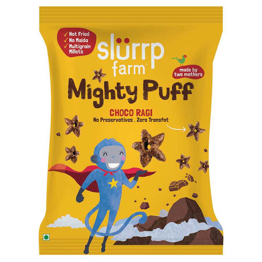CLEARANCE Mighty Puff | Choco Ragi - Expiry 1 April 2021