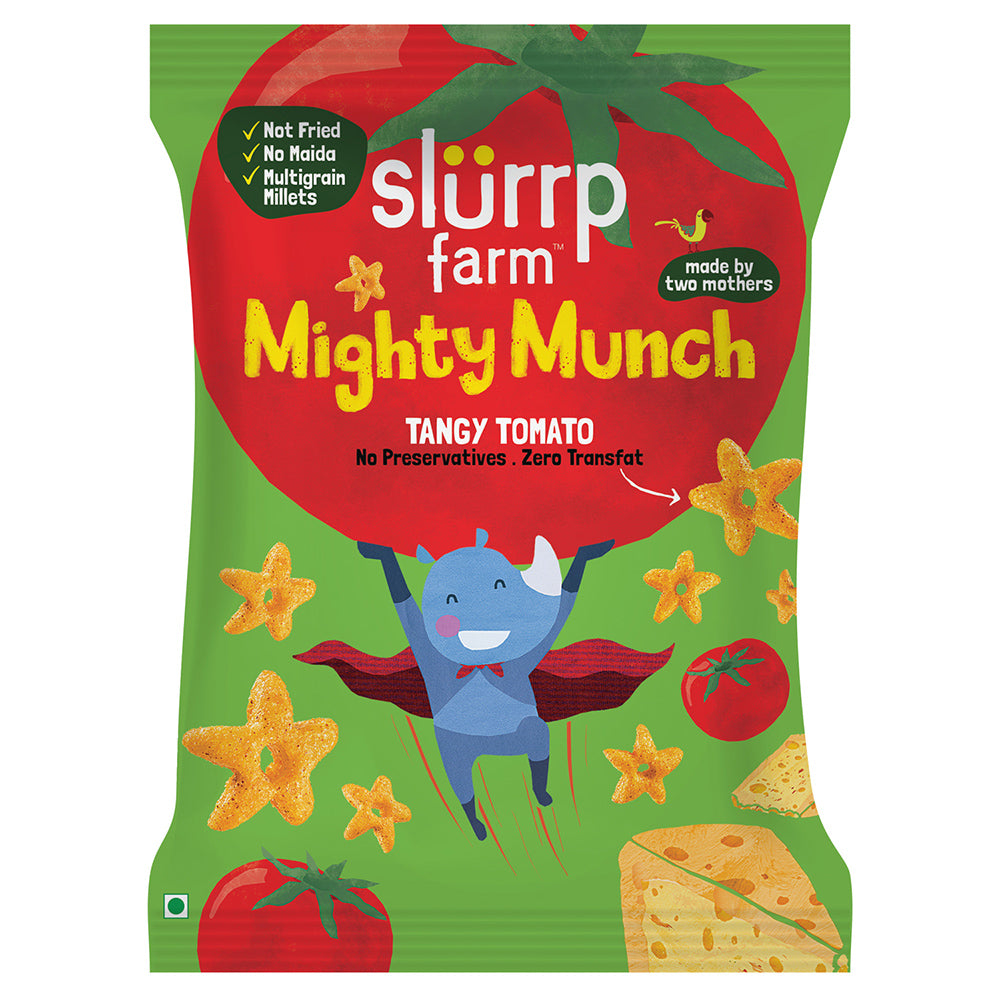 CLEARANCE Mighty Munch Puff | Tangy Tomato - Expiry 1 March 2021