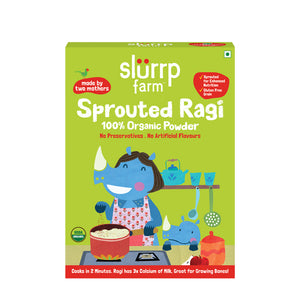 Organic Sprouted Ragi Powder