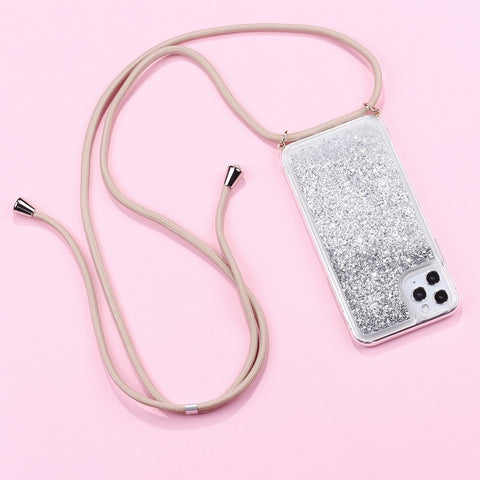Phone Necklace - STUSK© Sparkle Glitter Collection | APPLE - STUSK