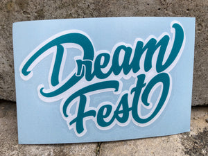 "4"" Decal Teal"