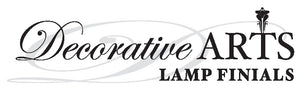 Decorative Arts Lamp Finials Logo