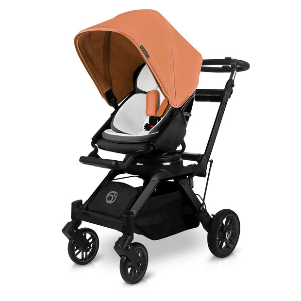G5 Stroller Canopy in Sunset Orange