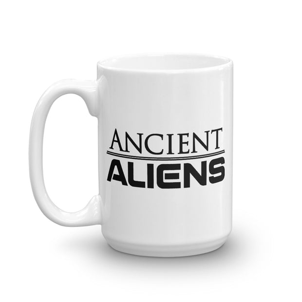 Ancient Aliens Logo White Mug