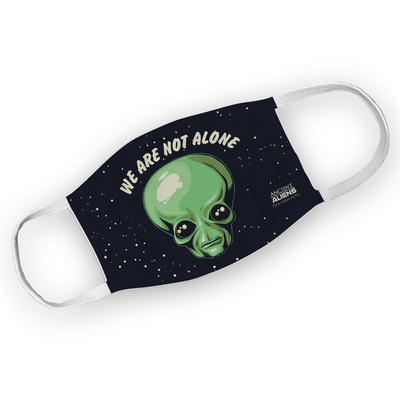 Ancient Aliens Alien Washable Face Mask