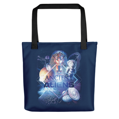 Ancient Aliens History of Man Premium Tote Bag