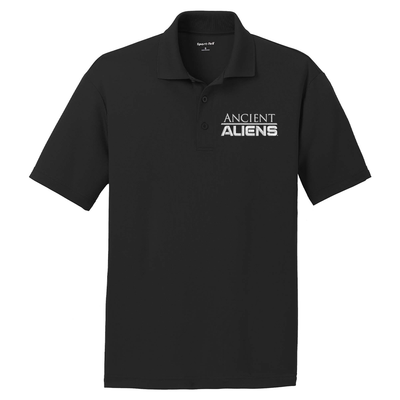 Ancient Aliens Logo Embroidered Polo