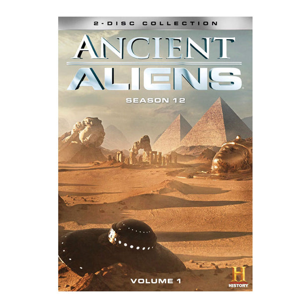 Ancient Aliens: Season 12, Vol 1 DVD