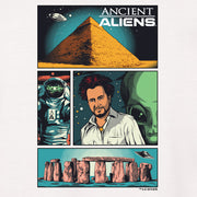 Ancient Aliens Comic Page Long Sleeve T-Shirt