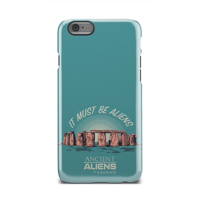 Ancient Aliens It Must Be Aliens Tough Phone Case