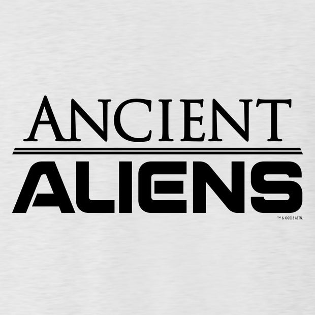 Ancient Aliens Logo Men's Tri-Blend Short Sleeve T-Shirt