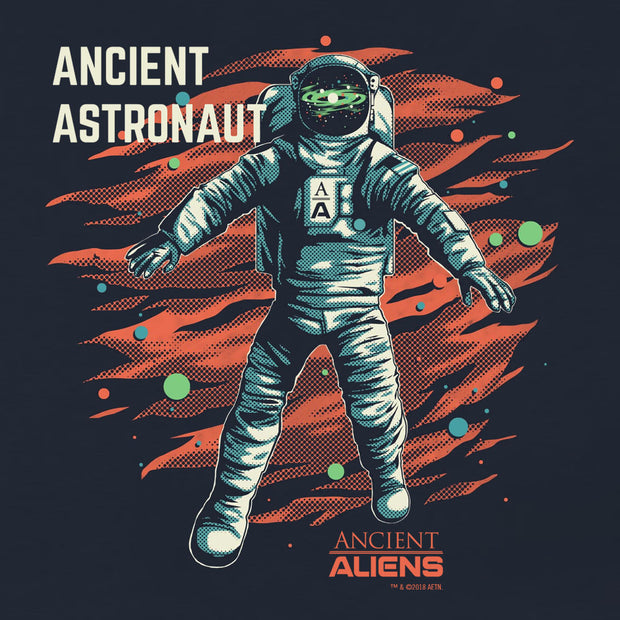 Ancient Aliens Astronaut Women's Relaxed V-Neck T-Shirt